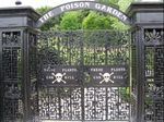 The Poison Garden gates at Alnwick Garden