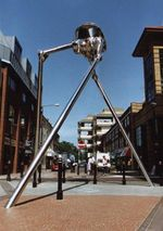 Martian Sculpture, Woking, by Michael Condron