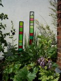 Hayhoe Garden Glass sculptures