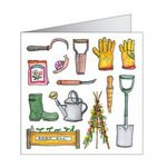 Gardening Images Gift Tag from Phoenix Trading