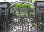 The Poison Garden gates at Alnwick Garden