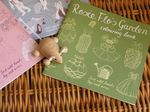 Rosie Flo's Garden colouring book from sixtyseven