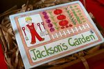 Jackson's Garden Board Book by Gillian Carson