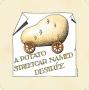 Simon Drew coaster potato