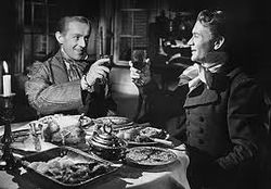 Alec Guinness and John Mills (as Pip) in David Lean's Great Expectations