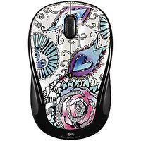 Logitech Ink Gear Floral Foray Wireless Mouse from John Lewis