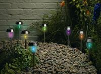 Smart Solar Dual Function Lights, publicity shot