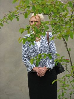 Mary Berry, Chelsea Flower Show 2013