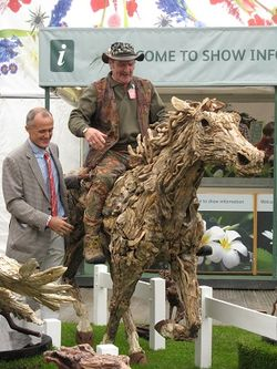 Johnny Kingdom, James Doran-Webb, Chelsea Flower Show 2013