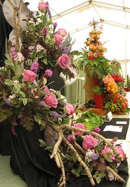 A Night at the Opera Flower Arranging class, Shrewsbury Flower Show, 2013