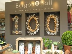 Burgon and Ball stand at Chelsea Flower Show 2013