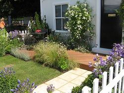 The APL good garden display at Hampton Court Flower Show 2013