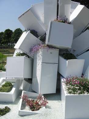 Tip of the Iceberg, Hampton Court Flower Show 2013