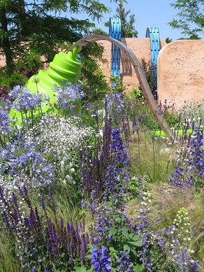Ecover Garden, Hampton Court Flower Show 2013