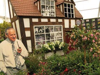 Tribute to Percy Thrower, Shrewsbury Flower Show, 2013