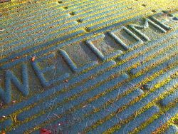 Welcome Mat. Creative Commons Licence. By Scarlet (www.flickr.com) ariesandrea