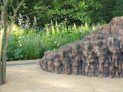 Cedar layered sculpture by Ursula von Rydingsvard