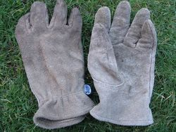 Briers Washable Leather gardening gloves