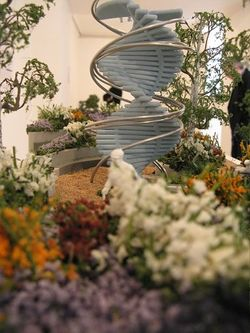 Stage, by Jo Thompson, Miniature Garden Show, London, March 2014