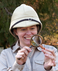 Emma Cooper, author of Jade Pearls and Alien Eyeballs