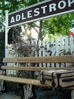 Paul Thomas' Adlestrop stand, Chelsea flower show, 2014