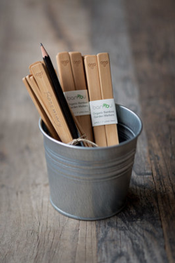 Bamboo plant labels from Damson