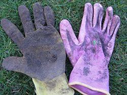 Joe's Gardening Gloves, The Essential One and The Dexterous One