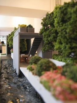 Vertigo (detail) by Jamie Dunstan, Miniature Garden Show, London 2014