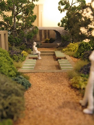 Coast, by Jim Fogarty. Long view. Miniature Garden Show, London, 2014