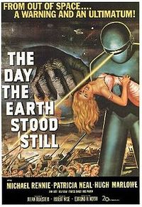 The Day the Earth Stood Still film poster