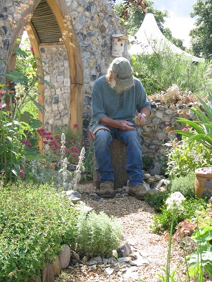Flintknapper's Garden, A Story of Thetford, Hampton Court Flower Show 2014
