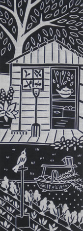 Gardeners Friend by Gail Kelly, Algan Arts