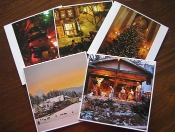 Square Snaps cards from uploaded photos