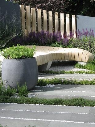 Living Landscapes Healing Urban Garden, Rae Wilkinson, RHS Hampton Court 2015