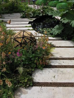 Macmillan Legacy Garden, RHS Hampton Court 2015
