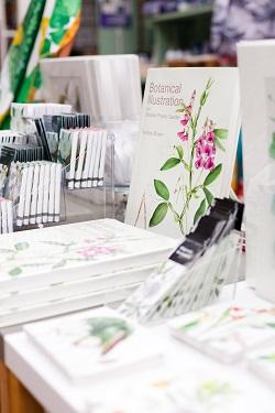 Botanical Illustration, Chelsea Physic Garden shop August 2015
