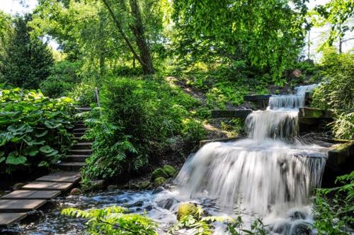 Japanese Landscape Garden, Planten un Blomen, Hamburg, Germany. Picture Berndt Andresen
