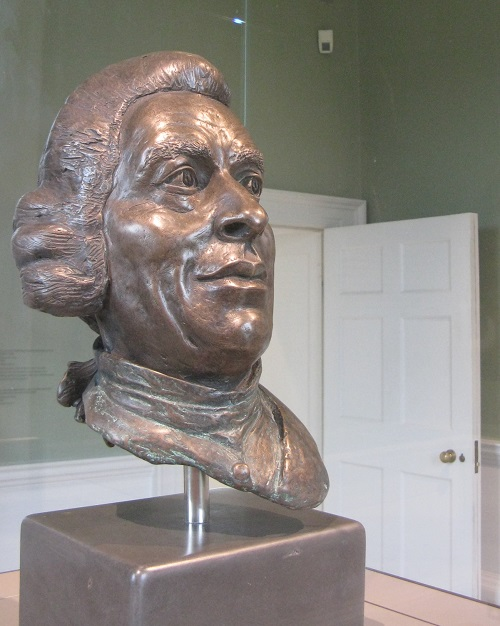 Capability Brown bust, Compton Verney