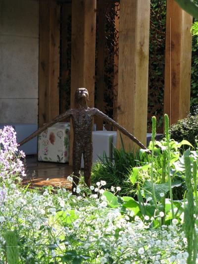Joy by John OConnor, Morgan Stanley garden, C Beardshaw, Chelsea 2016