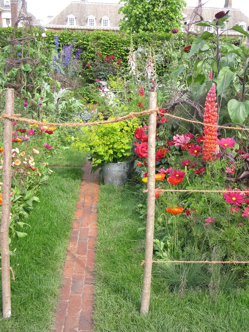 Anneke Rice Colour Cutting Garden  Sarah Raven  Chelsea Flower Show 2017