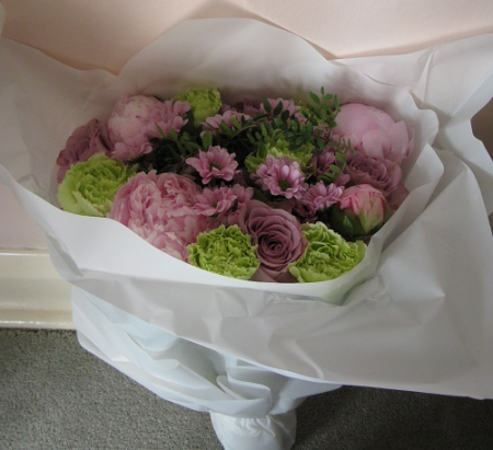 Prestige Flowers wrapped