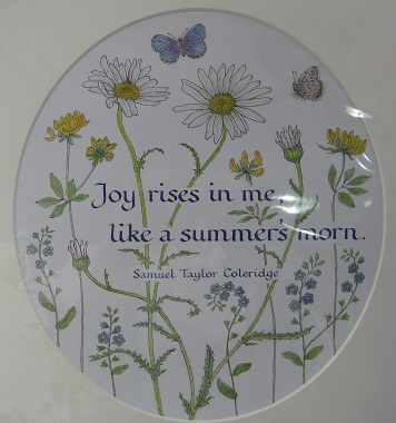 Rosemary Grossman calligraphy Joy Rises