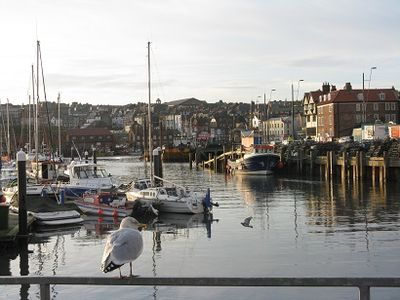 Late afternoon, Scarborough Harbour