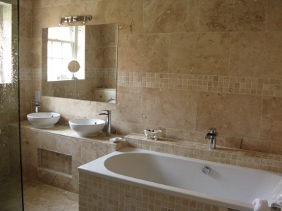 Bathroom, Hornsea Room, Ox Pasture Hall Hotel, Scarborough