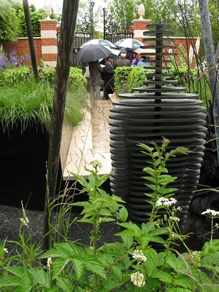 The Living Legacy Garden by Andrew Wilson and Gavin McWilliam, RHS Chelsea 2014