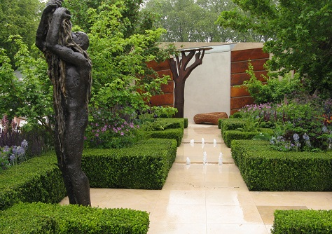 Morgan Stanley Healthy Cities garden,by Christ Beardshaw, Chelsea Flower Show 2015