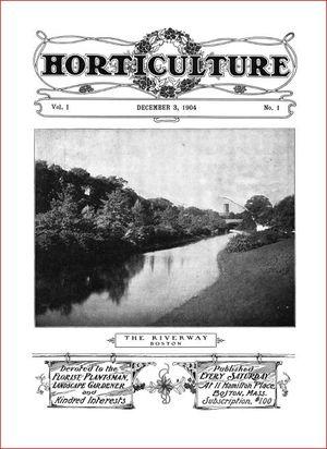 Horticulture magazine 1904