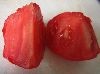 Gigantomo tomato flesh