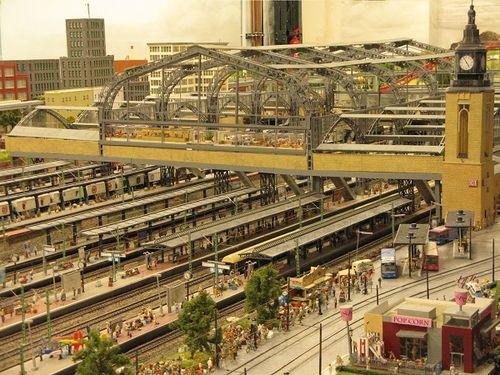 Hamburg Hauptbahhof, miniature railway, Hamburg