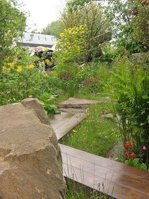 Laurent Perrier Chatworth garden by Dan Pearson, Best in Show, RHS Chelsea Flower Show, 2015